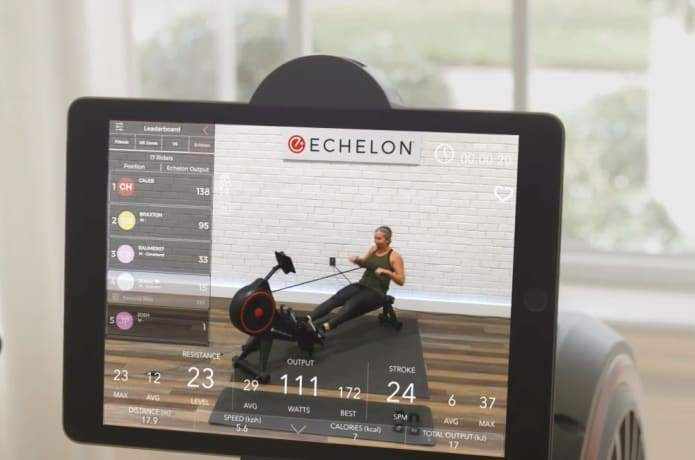 live and on demand rowing workouts